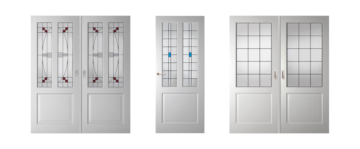 Moderne Glas In Lood Deuren.Binnendeuren Met Glas In Lood Bij De Maatwerkspecialist